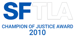SFTLA Champion Of Justice Award 2010